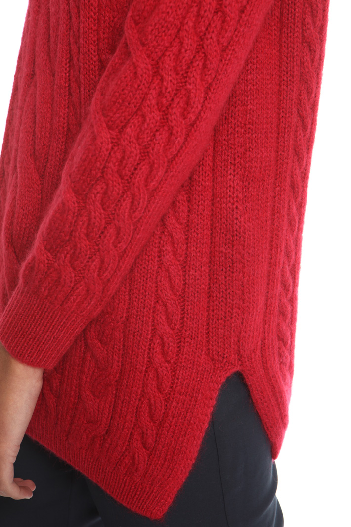 Plaited sweater Intrend