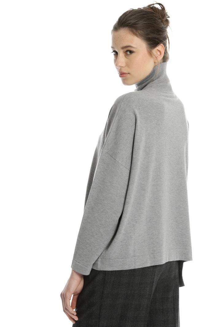 Silk wool blend sweater Intrend