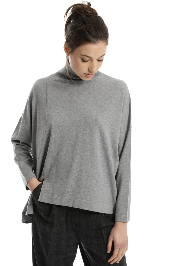 Silk wool blend sweater Intrend
