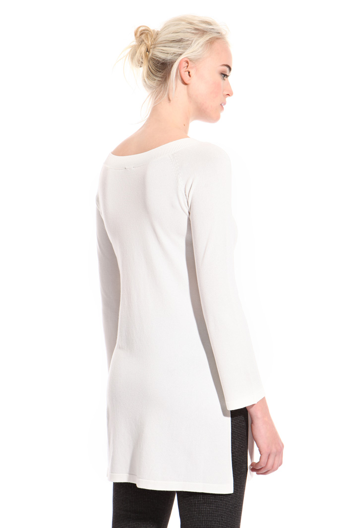 Sweater with wide slits Intrend