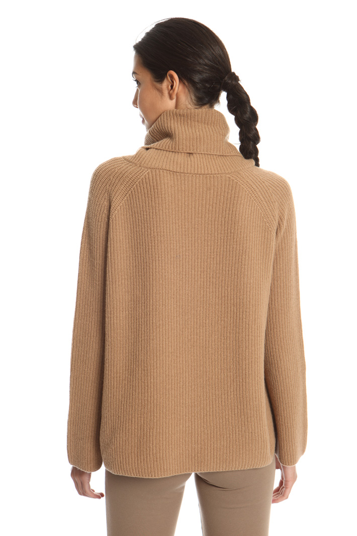 Folded collar pullover Intrend