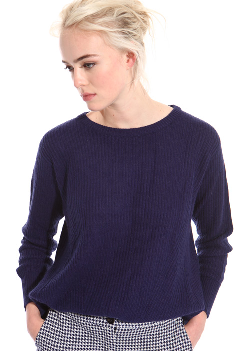 Cotton and angora sweater Intrend