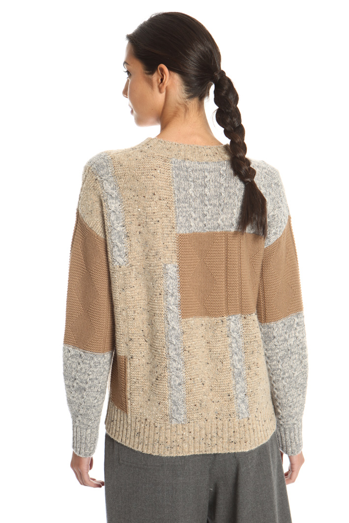 Wool and mohair pullover Intrend