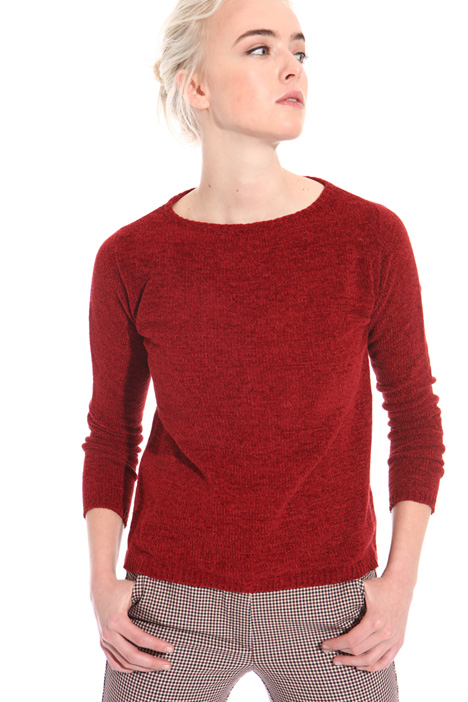 Brushed chenille sweater Intrend