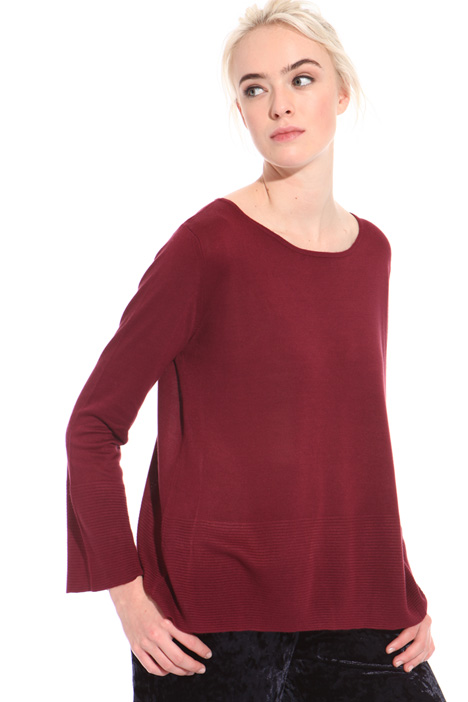 Flared viscose sweater Intrend