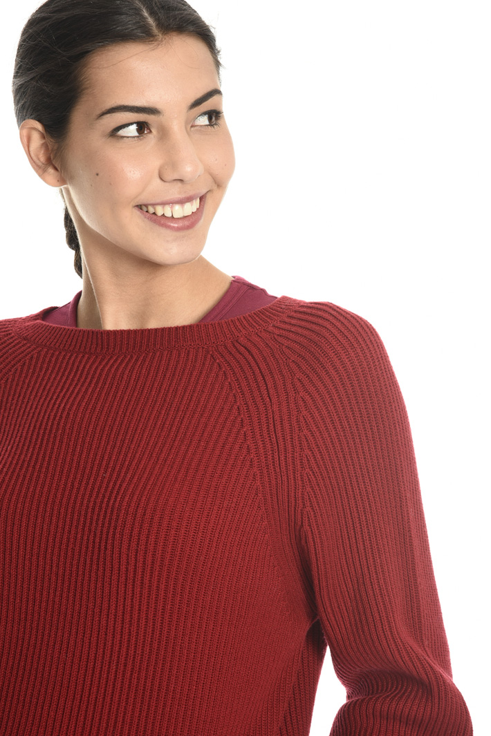 Wool and cotton blend sweater Intrend