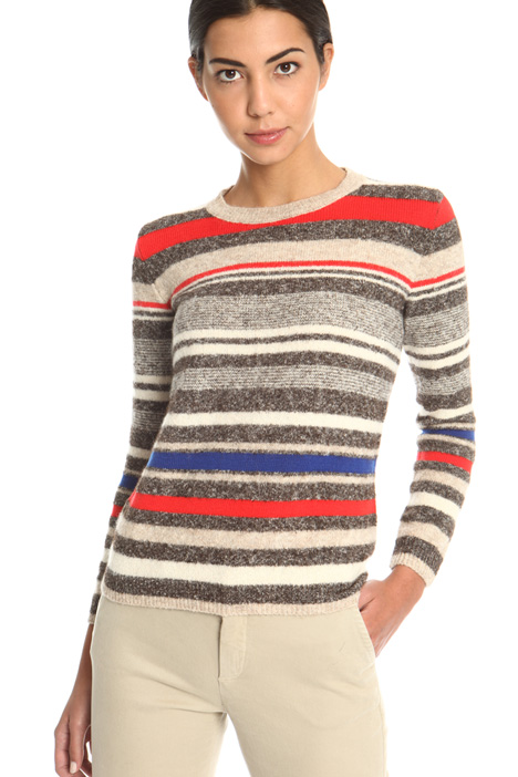 Cotton alpaca blend sweater  Intrend