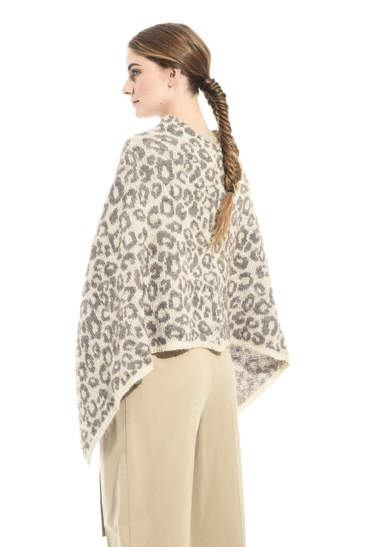 Mohair wool cape Intrend
