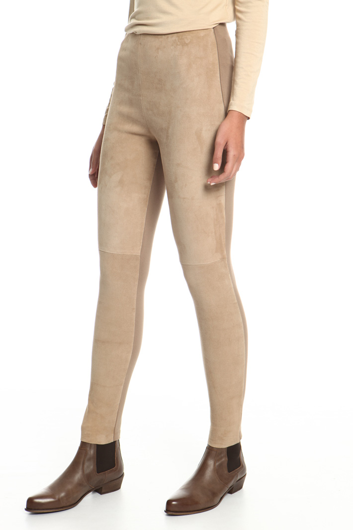 Suede trousers Intrend