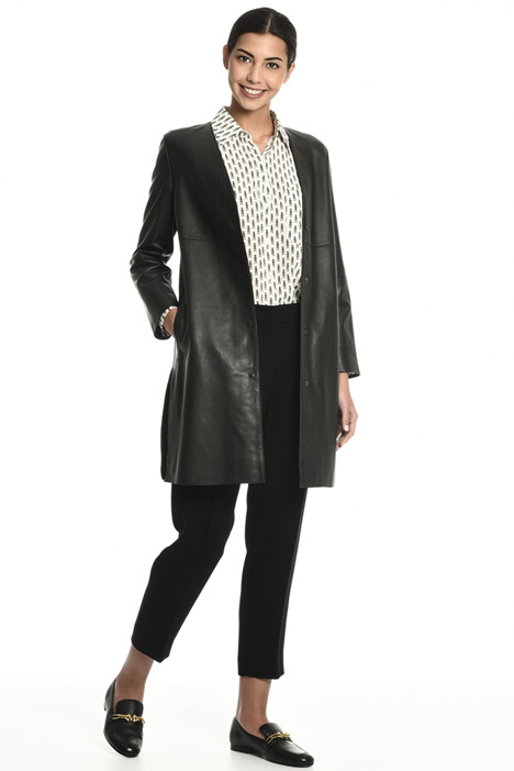 Leather duster coat Intrend