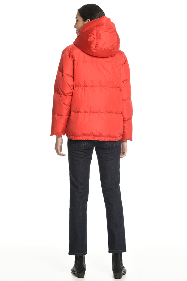 Down jacket with hood  Intrend