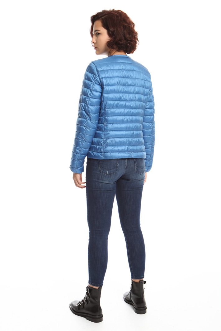Quilted short padded jacket  Intrend