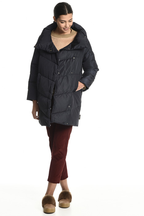 Funnel neck down coat Intrend