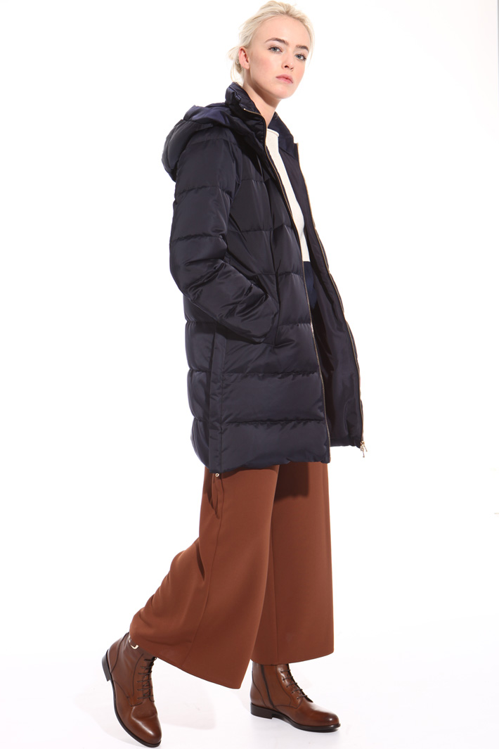 Glossy technical down jacket  Intrend