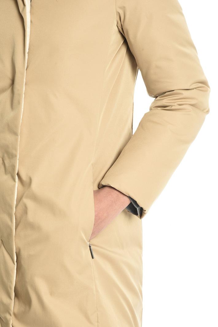 Fur trim puffer coat Intrend