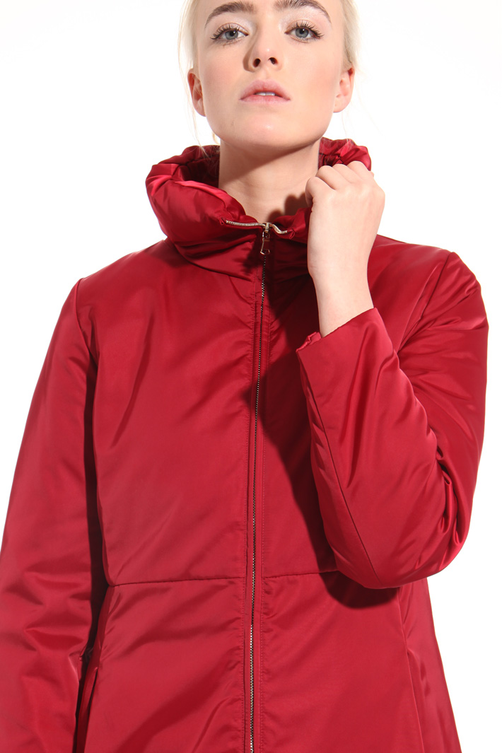Down jacket in shiny fabric  Intrend