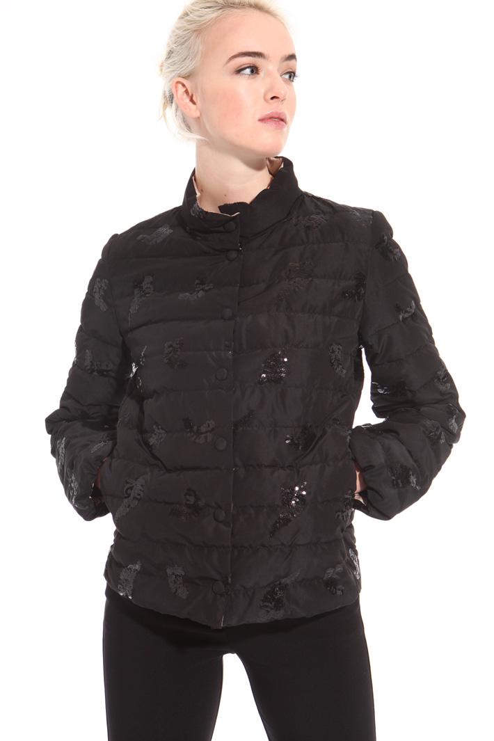 Sequin puffer jacket Intrend