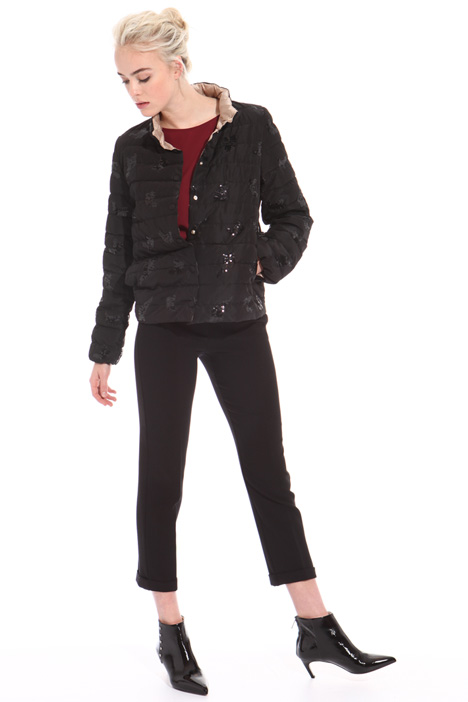 Sequin puffer jacket Intrend