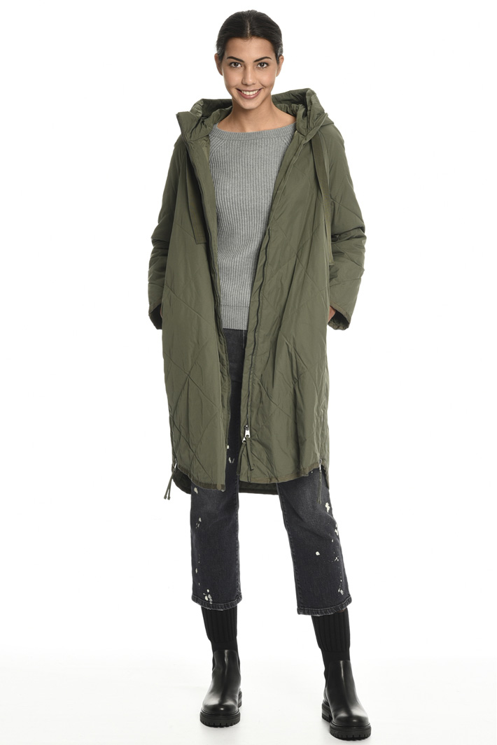 Quilted parka coat Intrend