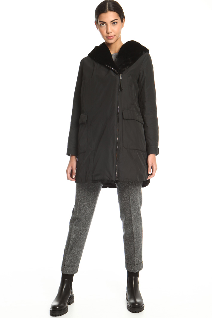 Technical twill jacket  Intrend