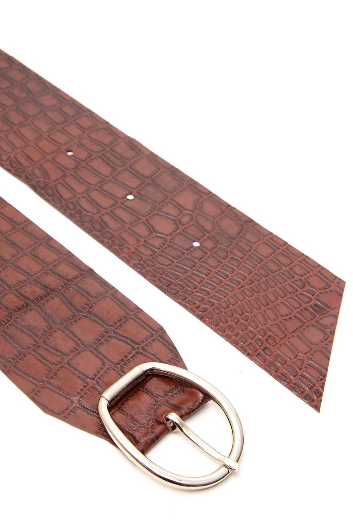 Leather sash Intrend