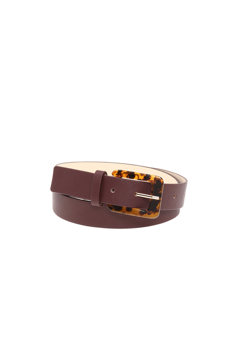 Saffiano-effect belt Intrend