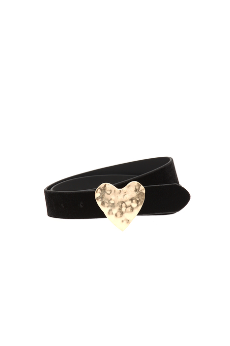 Belt with heart buckle  Intrend