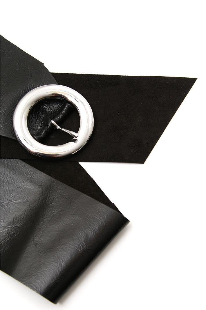 Ovine leather sash Intrend