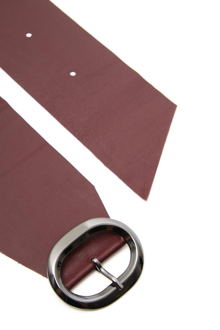 Soft leather sash Intrend