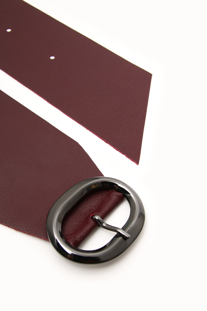 Soft leather sash Intrend