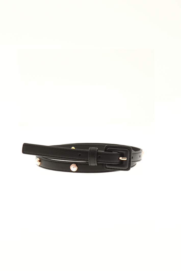 Thin belt with pearls  Intrend