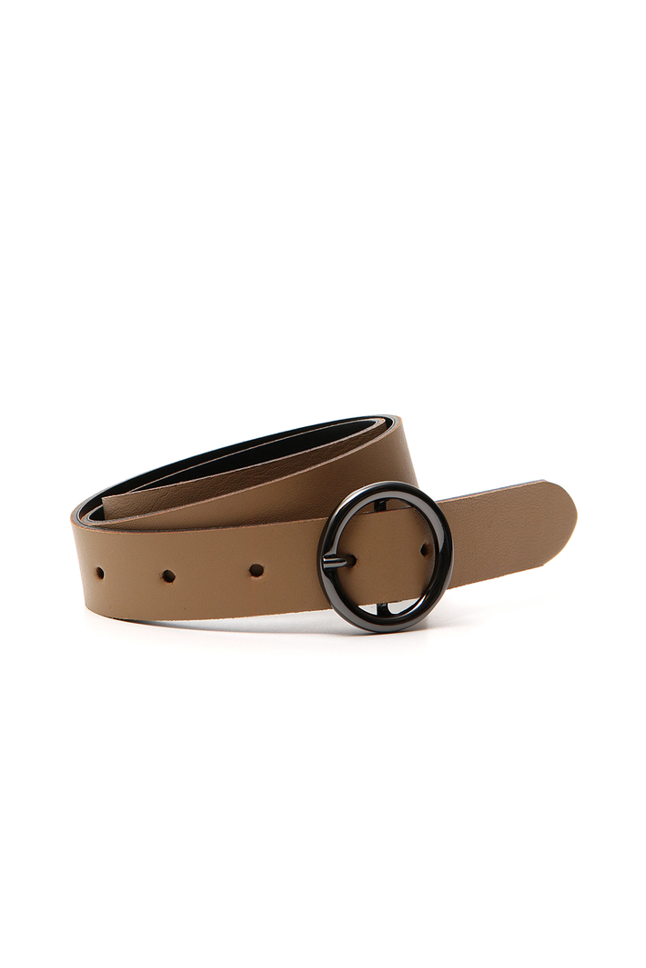 Cowhide leather belt Intrend