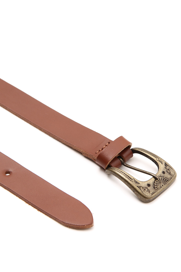 Engraved buckle belt Intrend