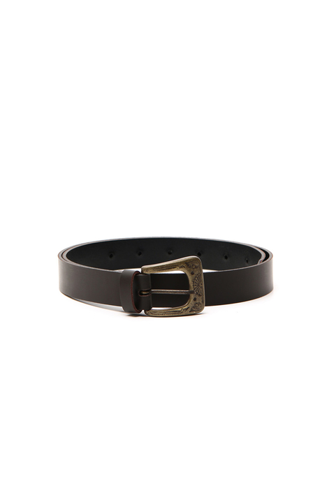 Opaque leather belt Intrend