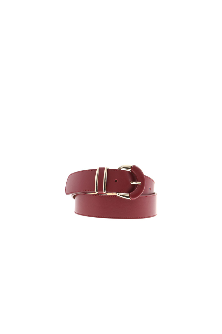 Smooth leather belt Intrend