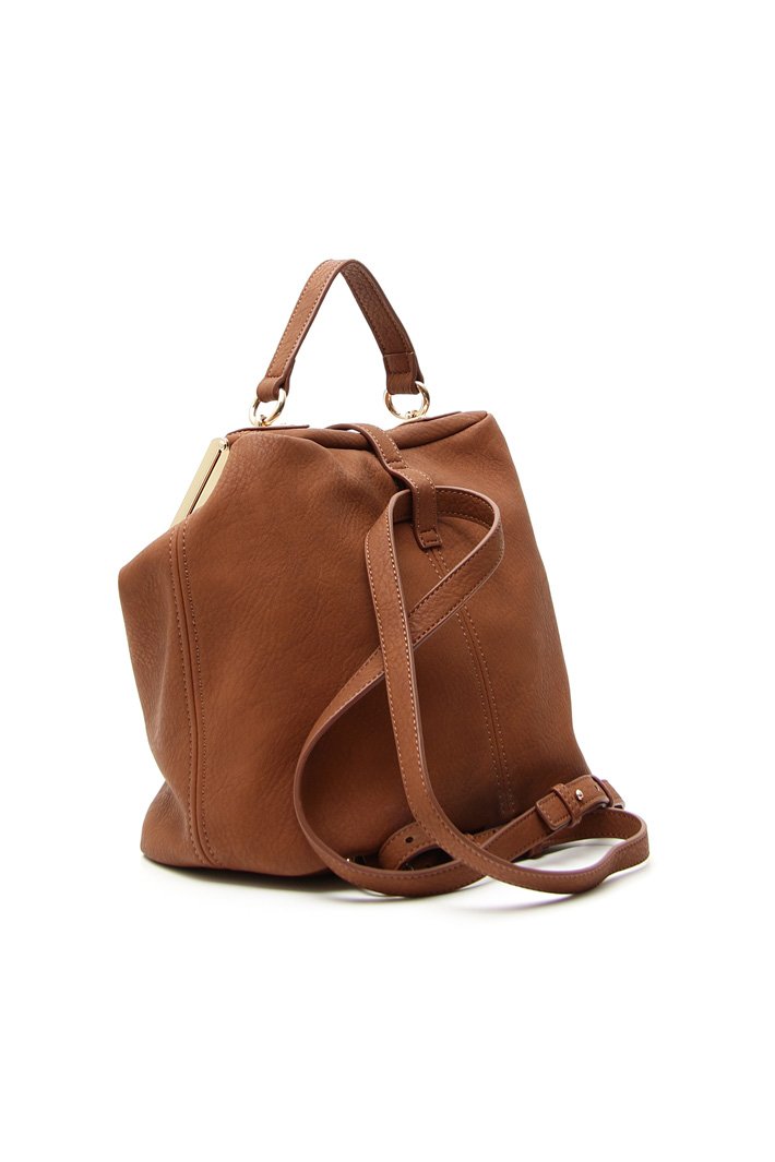Faux leather backpack Intrend