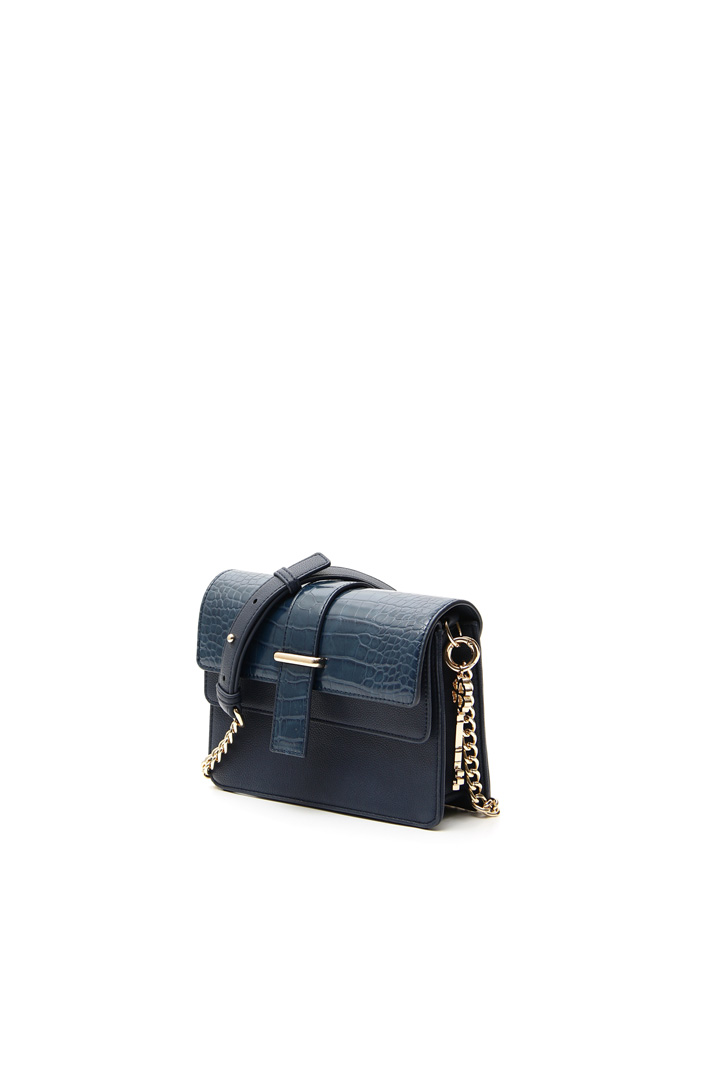 Leather-effect crossbody Intrend