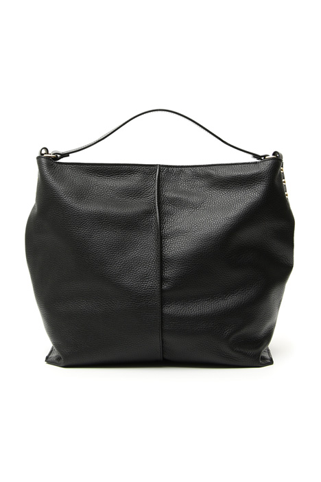 Bag in real leather Intrend
