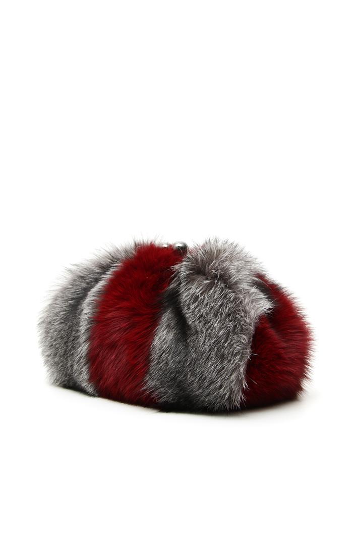 Fox fur hand bag Intrend