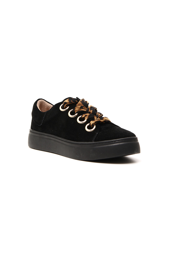 Suede leather sneakers Intrend