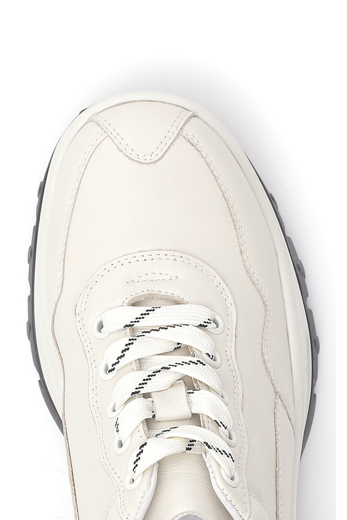 Sneakers in vera pelle Intrend