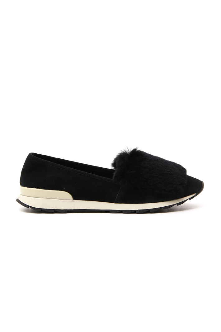 Moccasin with lapin detail Intrend