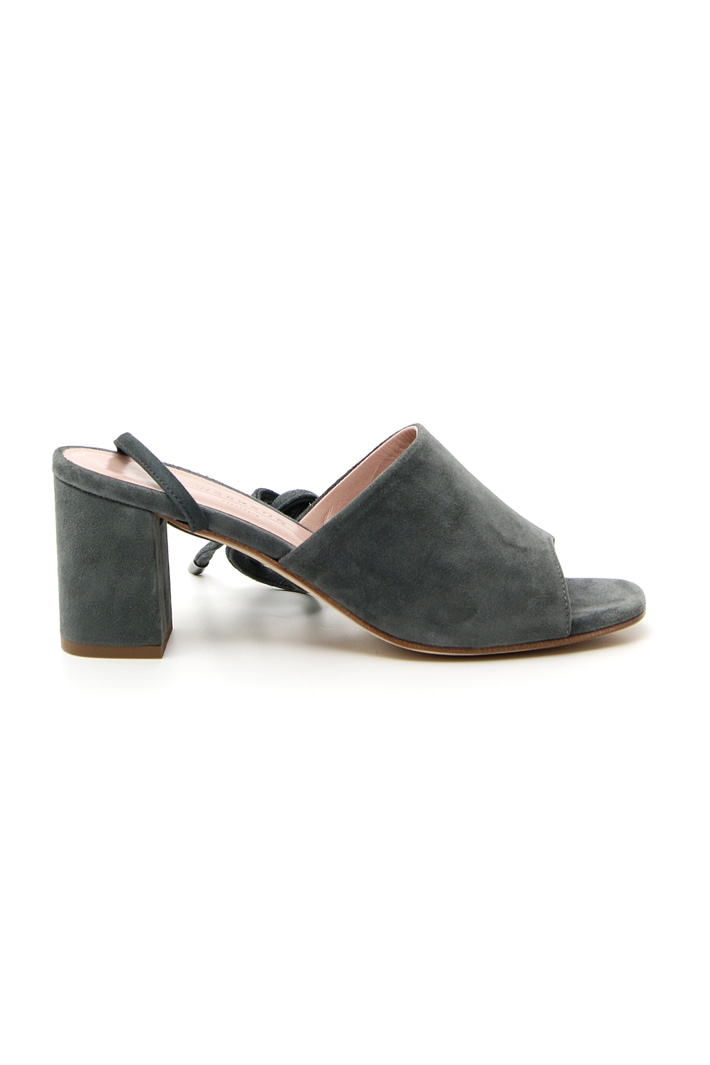 Suede leather sandals Intrend