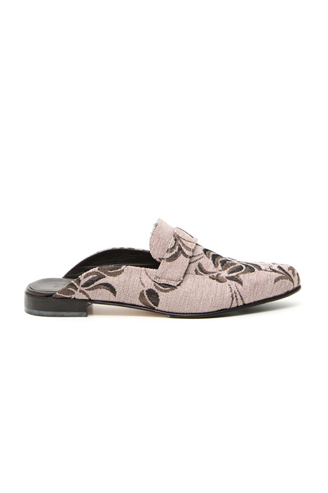 Jacquard sabot shoes Intrend