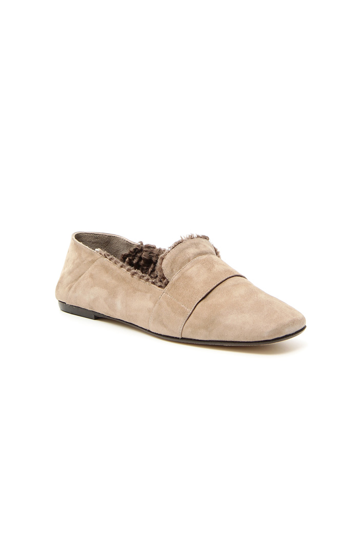 Lined moccasin Intrend