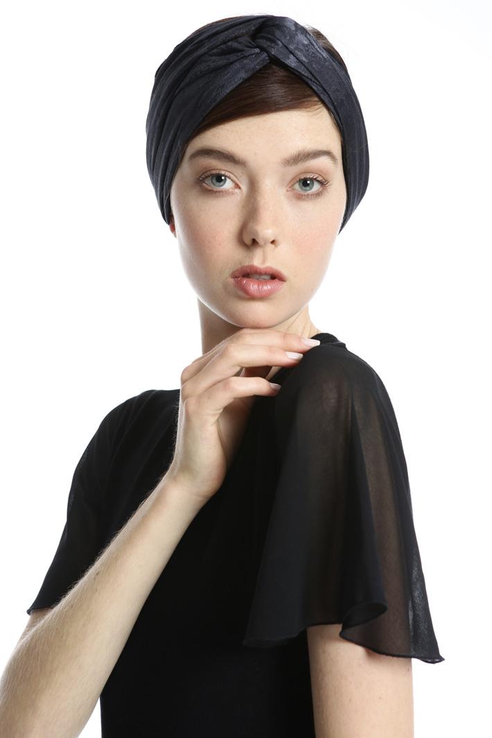 Printed viscose foulard Intrend