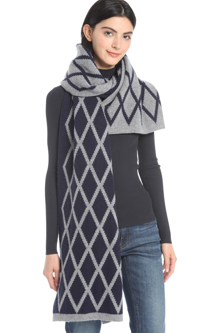 Pure wool scarf Intrend