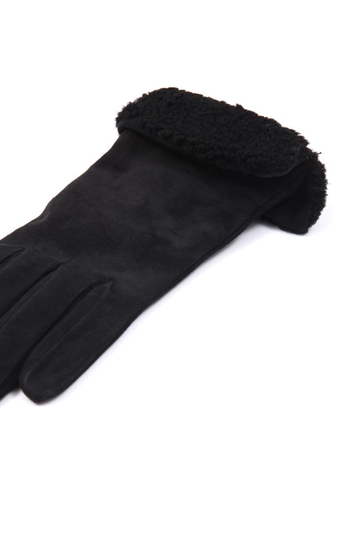 Suede gloves Intrend