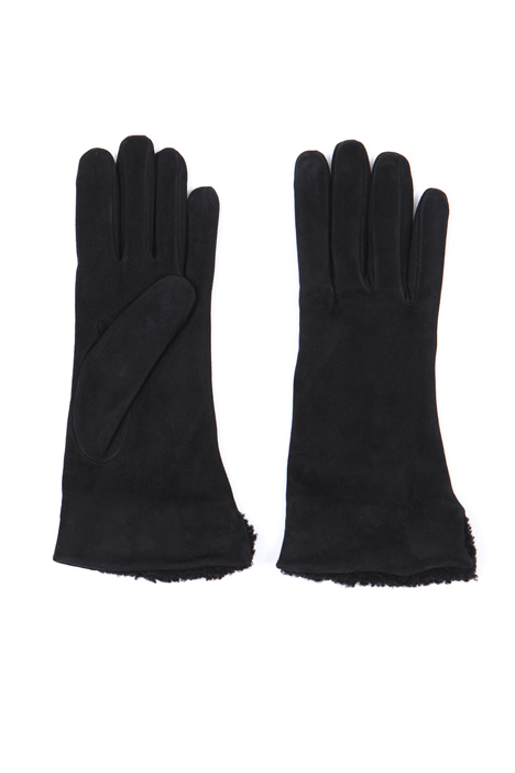 Suede gloves Intrend