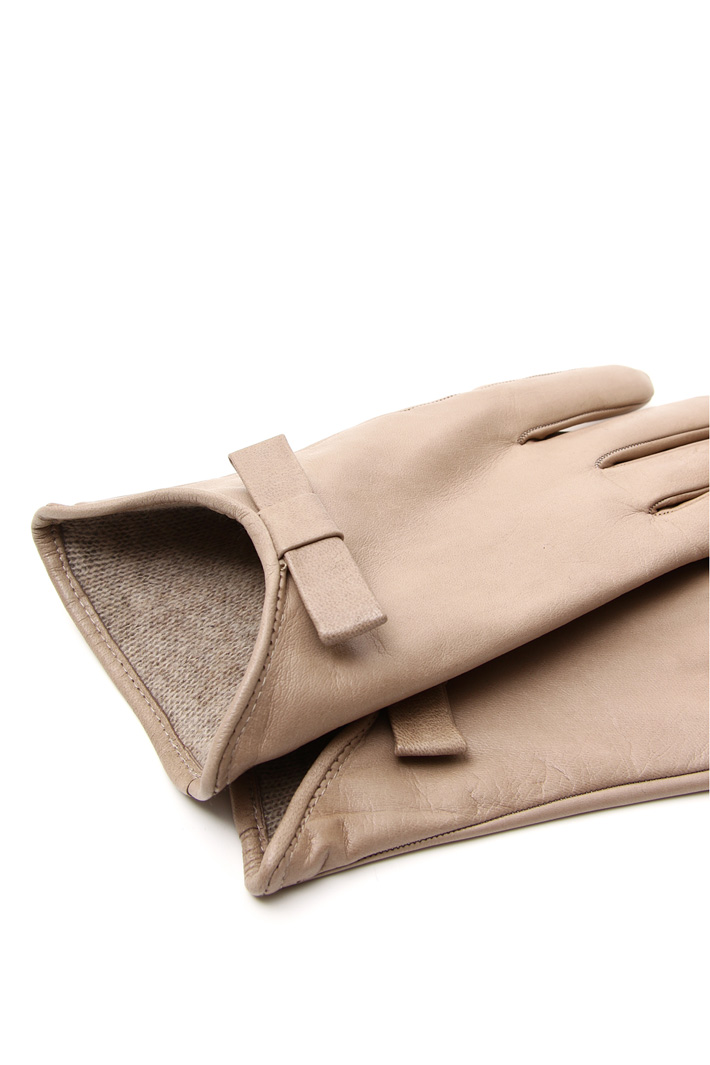 Real leather gloves Intrend